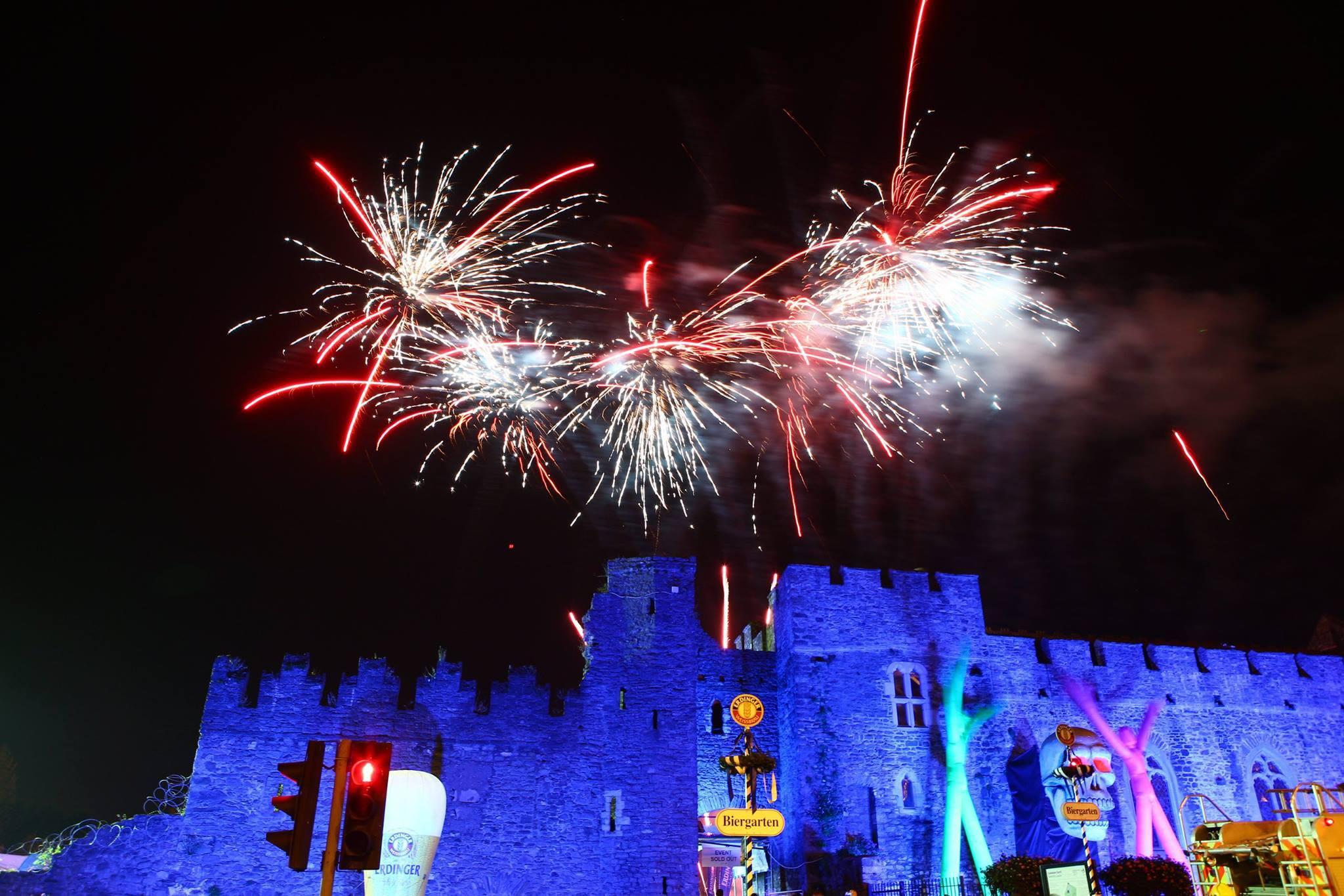Fireworks at Swords